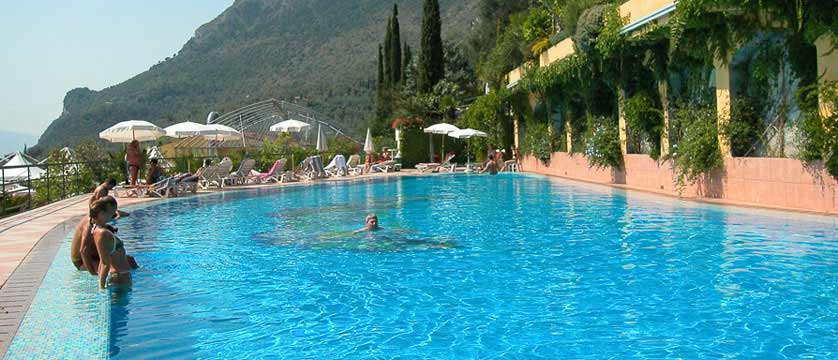 Hotel San Pietro, Limone, Lake Garda, Italy - Outdoor pool.jpg
